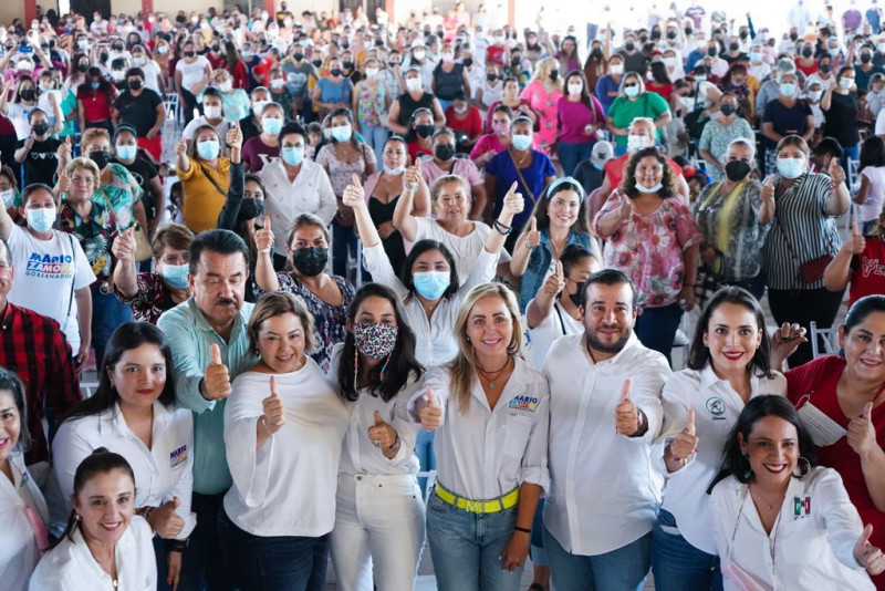 """Wendy de Zamora y las mujeres de Elota dan respaldo a candidatos de la alianza """"Va Por Sinaloa"""""""