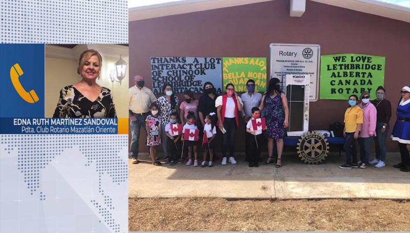 Club Rotario Mazatlán Oriente celebra 50 aniversario de fundación
