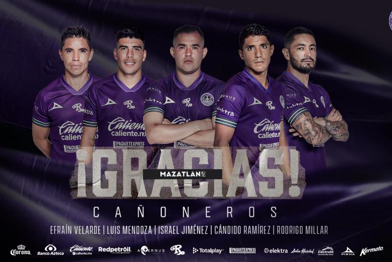 Se dan a conocer las bajas en el plantel de Mazatlan FC de cara al Apertura 2021