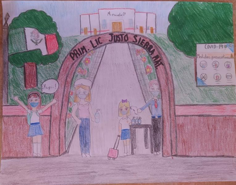 Niños y Niñas de Sinaloa quieren un regreso a las aulas alegre y feliz