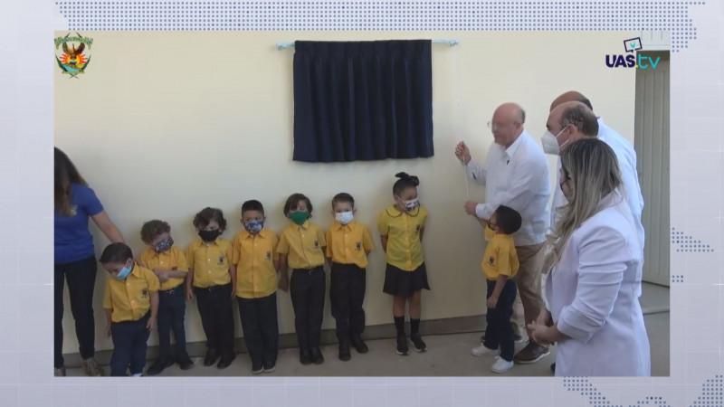 Entrega Rector de la UAS nuevo Jardín de Niños