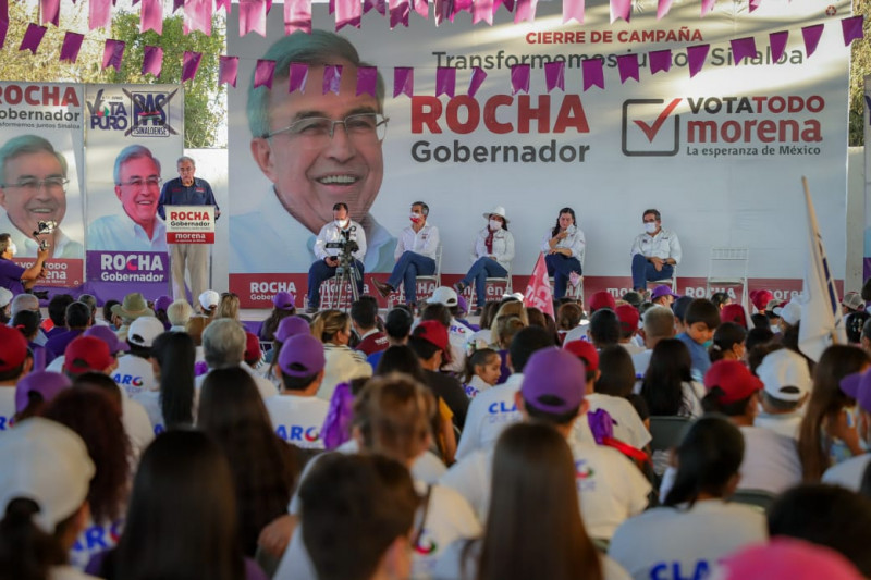 Rocha Moya se compromete a concluir el proyecto hidroagrícola Elota-Piaxtla