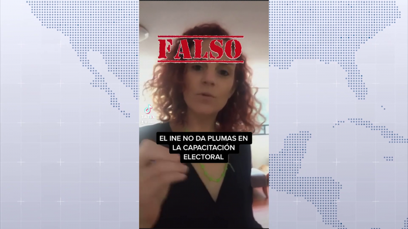 Desmiente INE video que circula en redes sociales