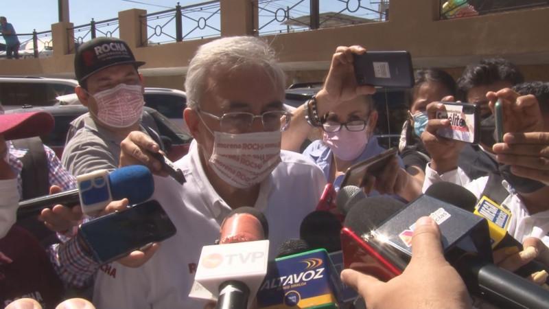 Rocha Moya desestima que candidata del PT que se sume a Mario Zamora