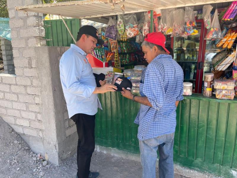 Como gobernador cumpliré con los compromisos hechos en campaña: Sergio Torres