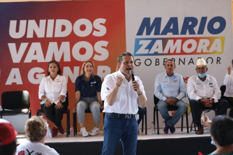 El sur-sur será ganador, con Mario Zamora como gobernador