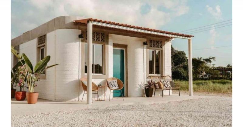 Esta será la primera comunidad de casas construidas con impresoras 3D