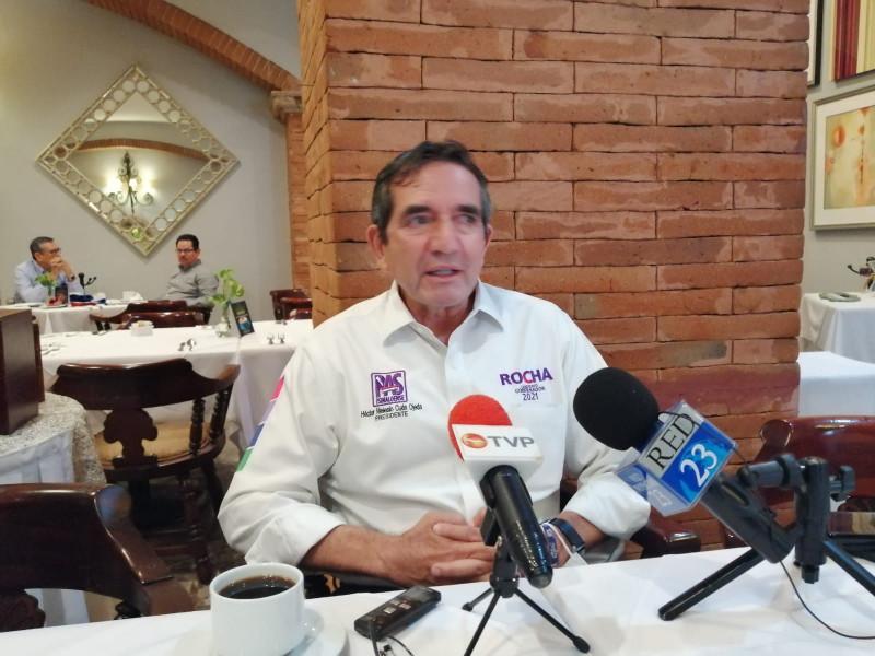 Seguimos respaldando el voto a candidatos de Morena en Mazatlán y Culiacán: Cuén Ojeda
