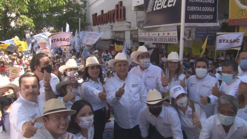 Habrá voto de castigo contra el mal gobierno municipal en Culiacán: Faustino Hernández Álvarez