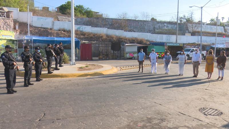 Celebra la Marina Nacional de México 79 aniversario en Topolobampo