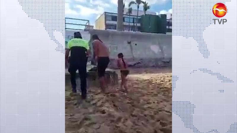 Piden a policías ser más tolerantes, tras detención de padre e hija