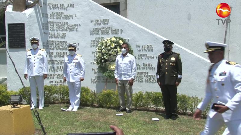 Celebran el Día de la Marina, a puerta cerrada en Mazatlán