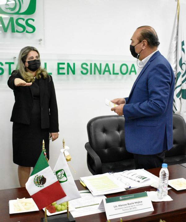 Cambios en la Delegación del IMSS Sinaloa