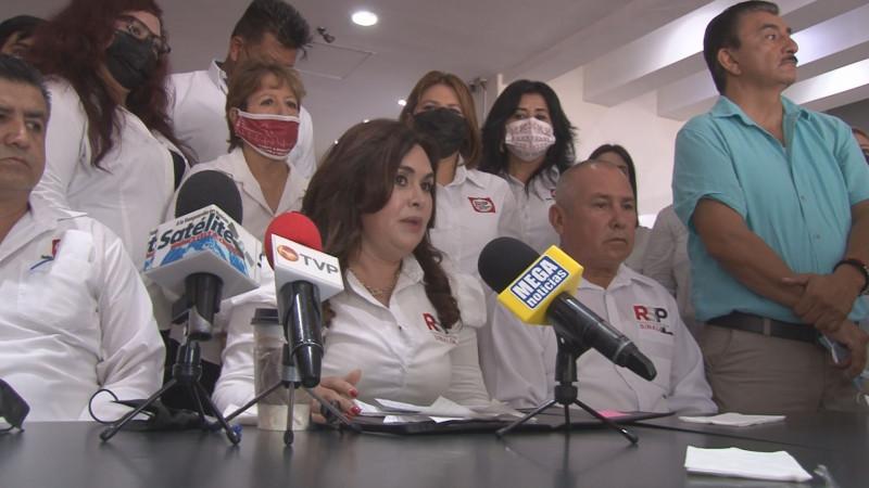 Candidata de RSP a la alcaldía de Navolato se declara a favor de Ruben Rocha Moya
