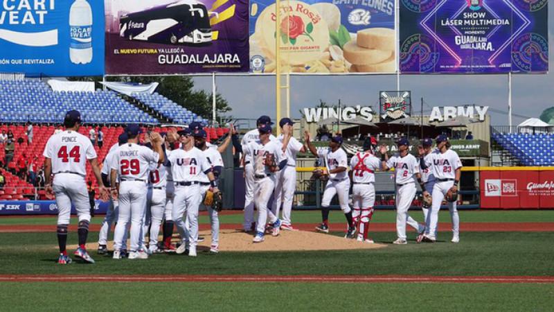 Estados Unidos vence a Rep. Dominicana en el Pre-Olímpico de Béisbol