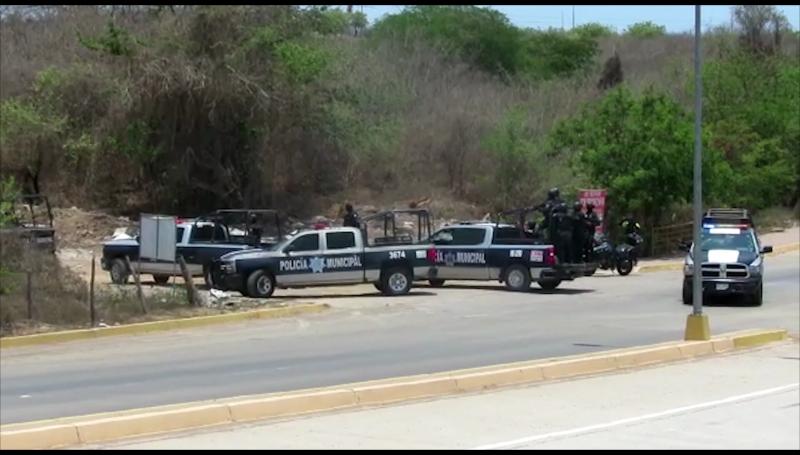 Persecución y balacera deja tres detenidos al norte de Mazatlán