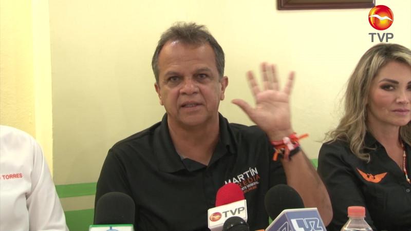 Pide Martín Heredia cuidar las elecciones en Mazatlán
