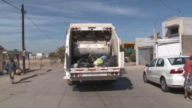 Este 06 de junio, la recolección de basura no se detiene en Mazatlán