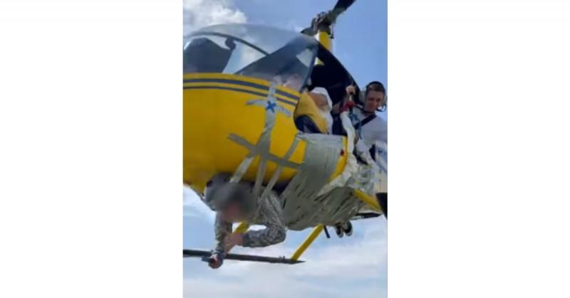 Le retiran licencia de vuelo a piloto por encintar a un hombre y sobrevolar la ciudad