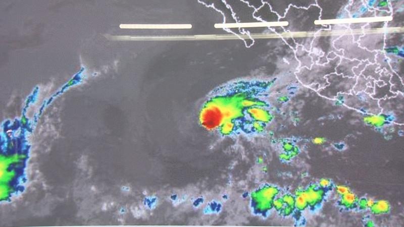 """""""Blanca"""" se degrada a depresión tropical no representa peligro para Sinaloa"""