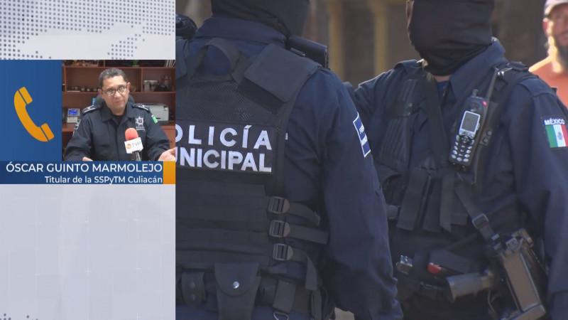 Listo operativo de seguridad para jornada electoral en Culiacán