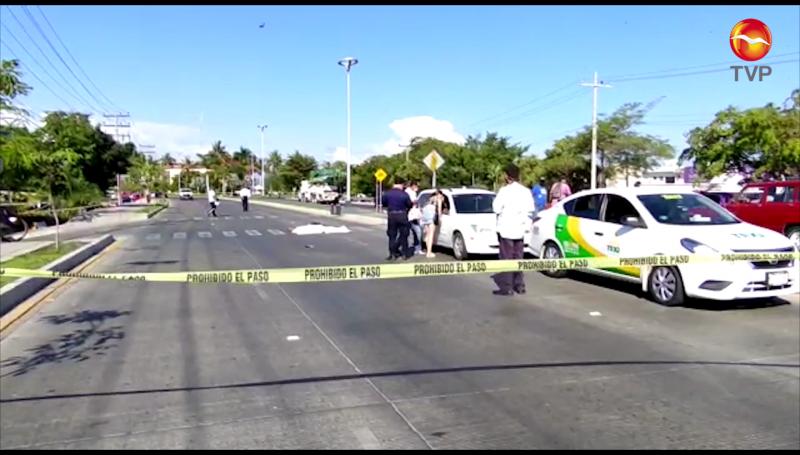 Ciclista muere al ser embestido por un automóvil en la avenida Rafael Buelna