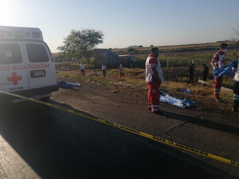 Trágico accidente en la carretera México 15
