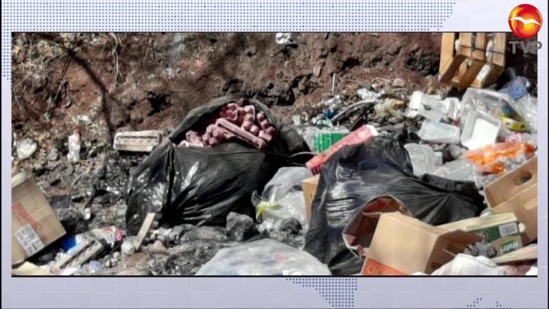 Convierten en basurero camino vecinal de La Sábila