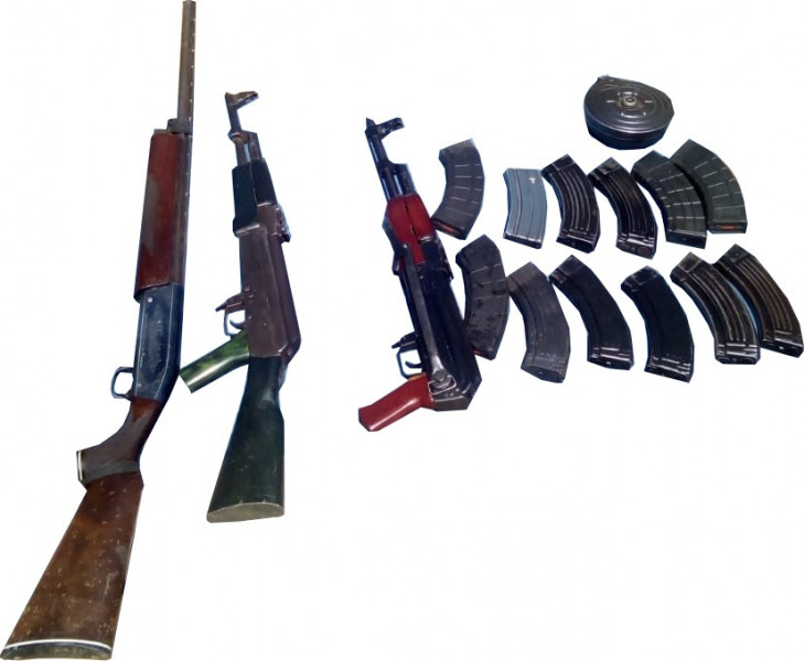 Detienen a tres con armas en Imala