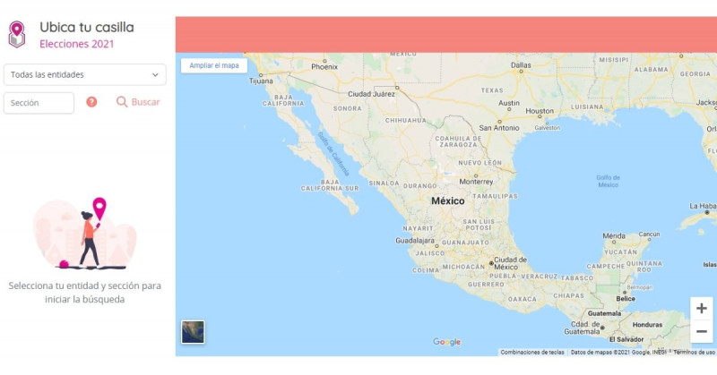 """""""Ubica tu Casilla.ine.mx"""", la web que te dice dónde te toca votar este domingo"""