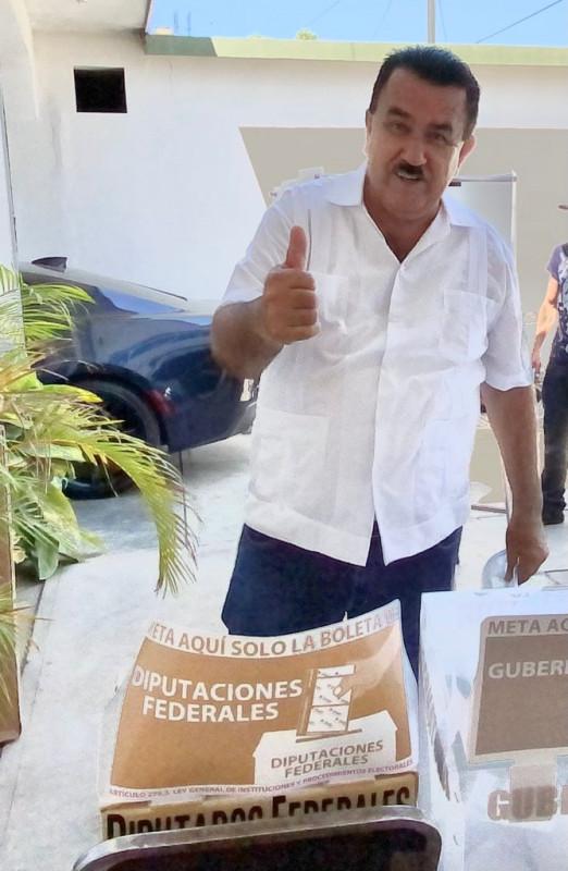 Germán Escobar espera una jornada electoral tranquila