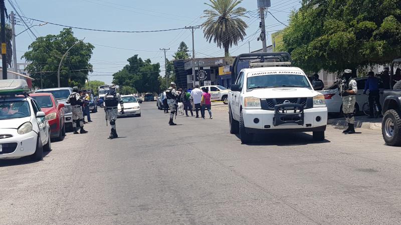 Jornada electoral se torna violenta en Ahome