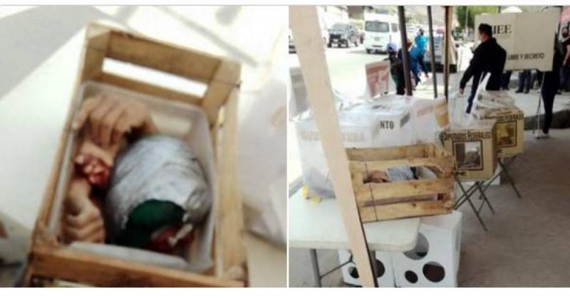 Abandonan dos cabezas y restos humanos en casillas o cercanías en Tijuana, Baja California