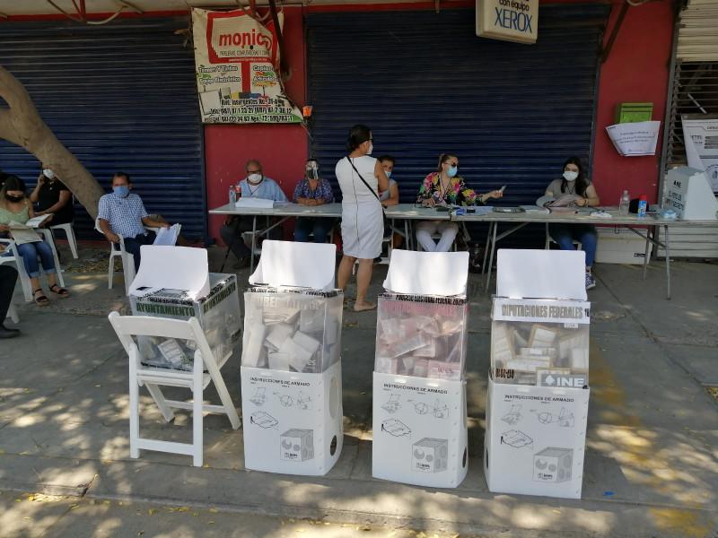 Con normalidad avanza la votación en Guasave, pese a hechos delictivos