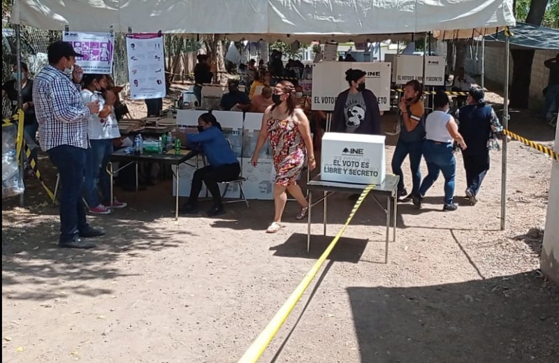 Sin contratiempos la elección en Culiacancito