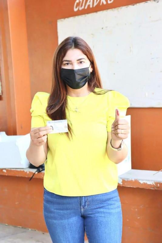 Declina candidata del PRI-PAN-PRD a la alcaldía de Badiraguato
