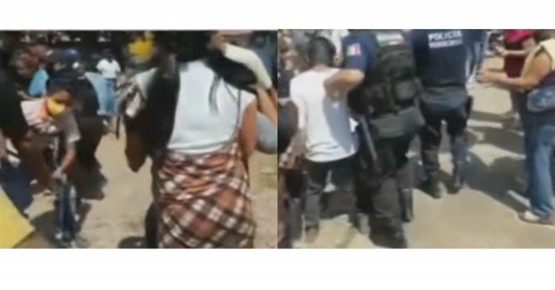 Vecinos golpean a mujeres por supuesta compra de votos durante las elecciones (video)