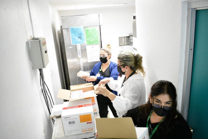 Llegan  200 mil vacunas mas contra el Coronavirus a Sinaloa