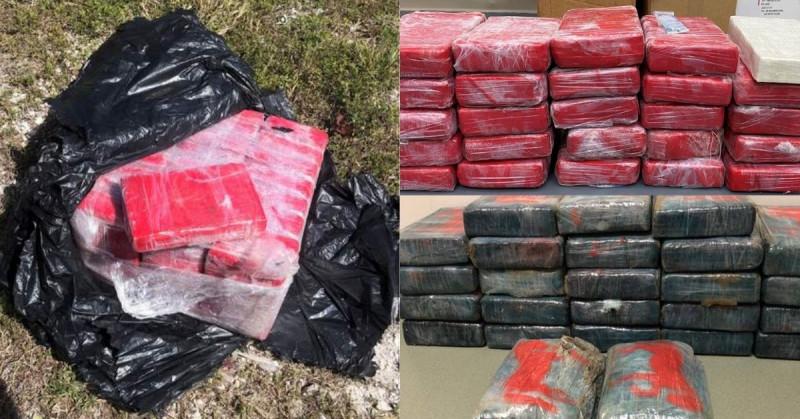 Van cuatro veces que se encuentran varios paquetes de cocaína tirada en la misma playa