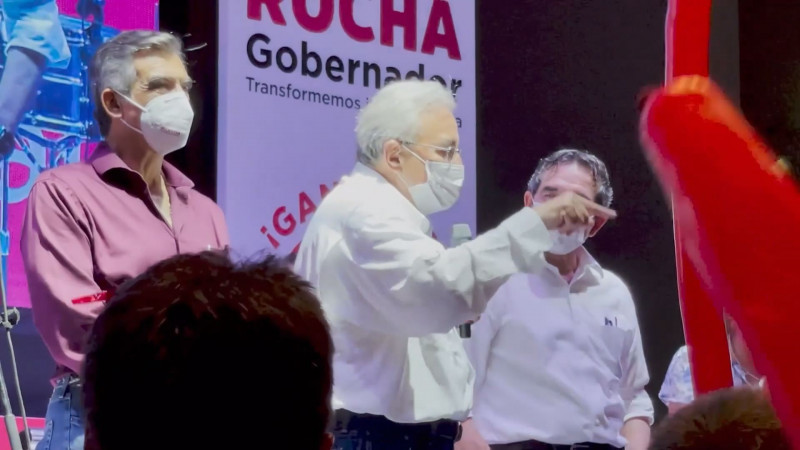 No suelta prenda Rocha Moya sobre quienes formarán parte de su gabinete