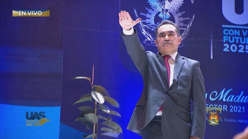 Jesús Madueña toma protesta como Rector de la U.A.S.