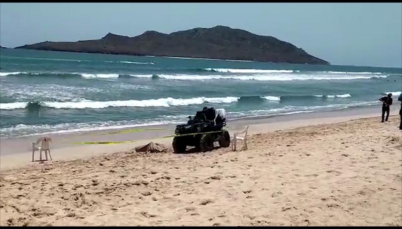 Sale a flote cuerpo sin vida en playa de Mazatlán