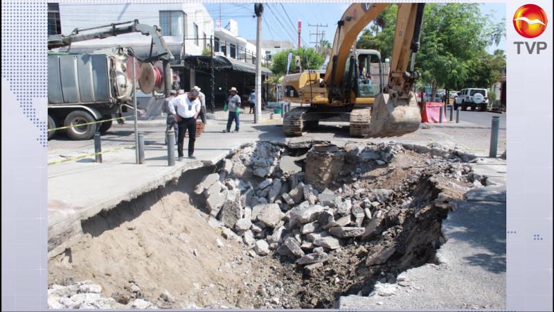 Detecta JUMAPAM socavón en Playa Sur