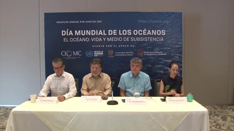 Firman convenio para investigación oceánica