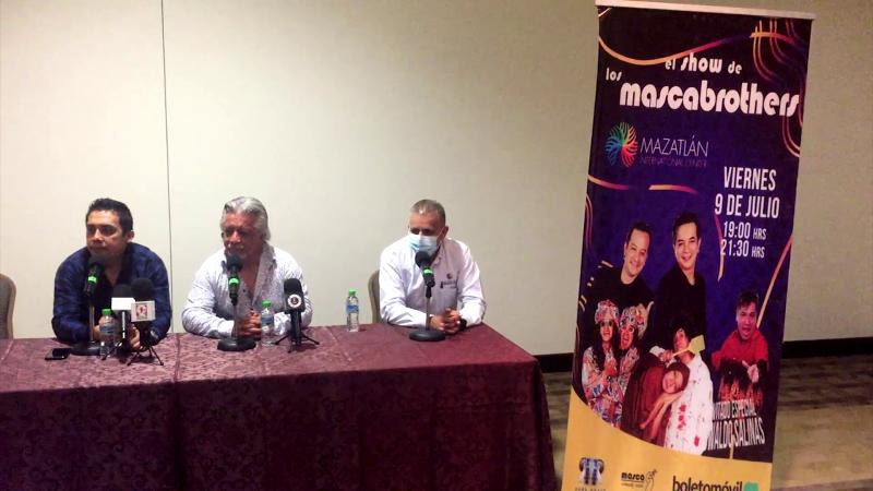 "Regresan los ""Mascabrothers"" a Mazatlán"