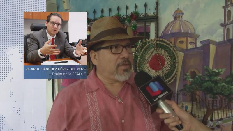 El siguiente paso, la extradición del autor intelectual del homicidio de Javier Valdez: FEADLE