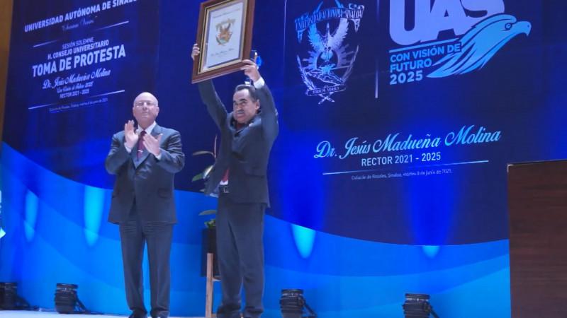 La UAS se seguirá consolidando con Jesús Madueña al frente