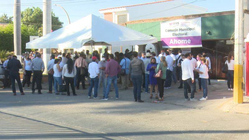 Avanza en un 50% en conteo de votos en CME Ahome