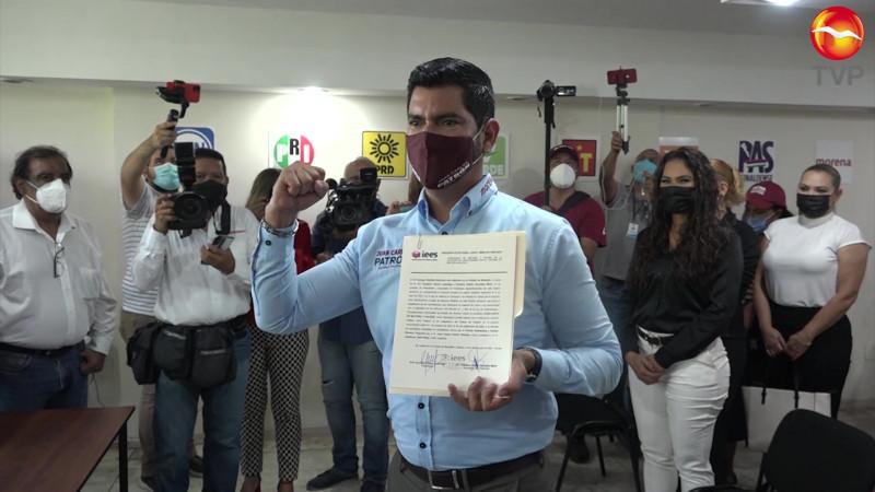 Es Juan Carlos Patrón Diputado electo del Distrito 23