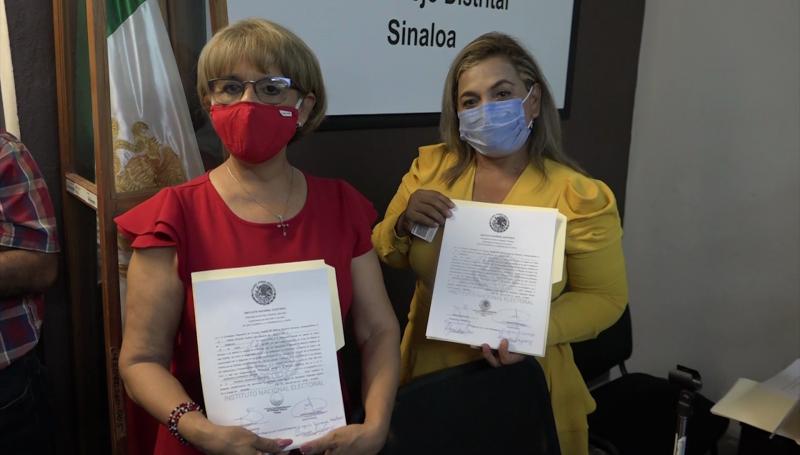 Olegaria Carrasco recibe constancia de diputada federal electa